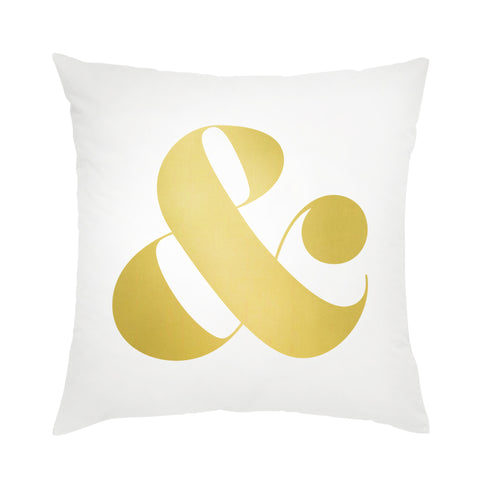 I found this at #moonandlola! - Ampersand Pillow
