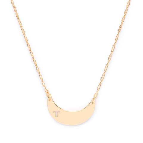 Vendome Vertical Pierced Bar Necklace