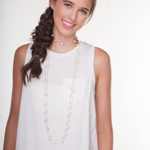 I found this at #moonandlola! - Baldwin Necklace (available in Silver and Gold)