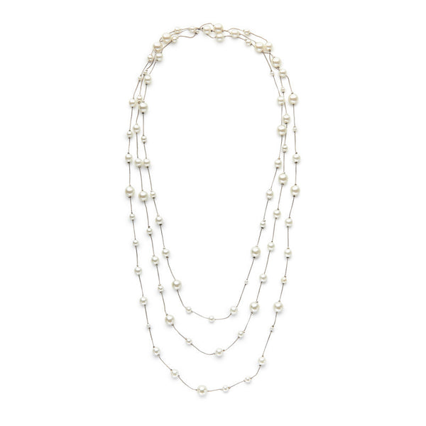 I found this at #moonandlola! - Baldwin Necklace Silver