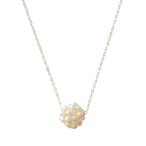 Dragon Egg Pearl Necklace