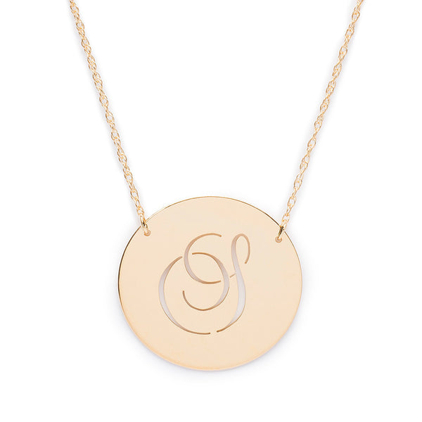 I found this at #moonandlola - Beso Disc Necklace