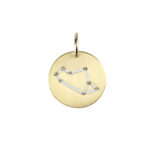 I found this at #moonandlola! - Brass Constellation Charm