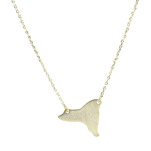 Moon and Lola - Brass New York Necklace