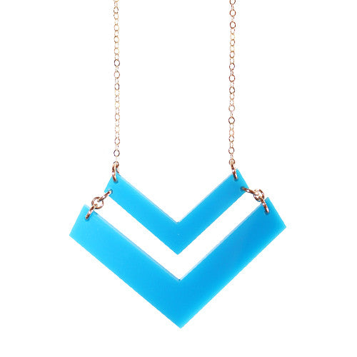 I found this at #moonandlola! - -Chevron Necklace