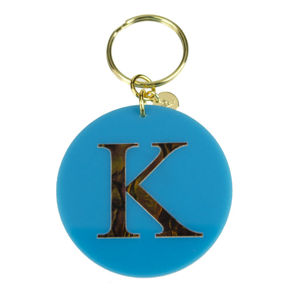 I found this at #moonandlola! - Calypso Initial Keychain