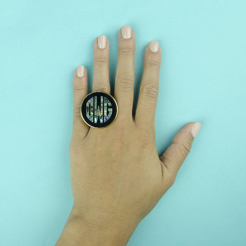 I found this at #moonandlola! - Calypso Round Ring