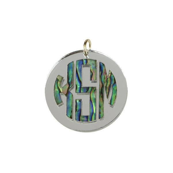 I found this at #moonandlola! - Calypso Block Monogram Charm