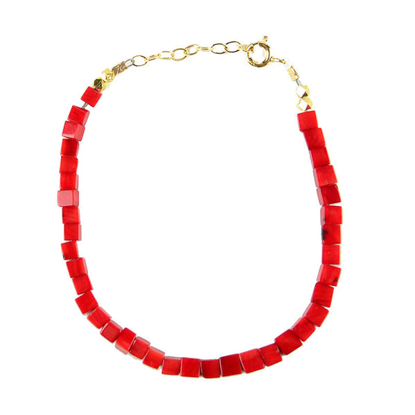 I found this at #moonandlola! - Callisto Bracelet Coral