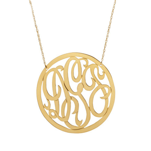I found this at #moonandlola - Cheshire Rimmed Necklace