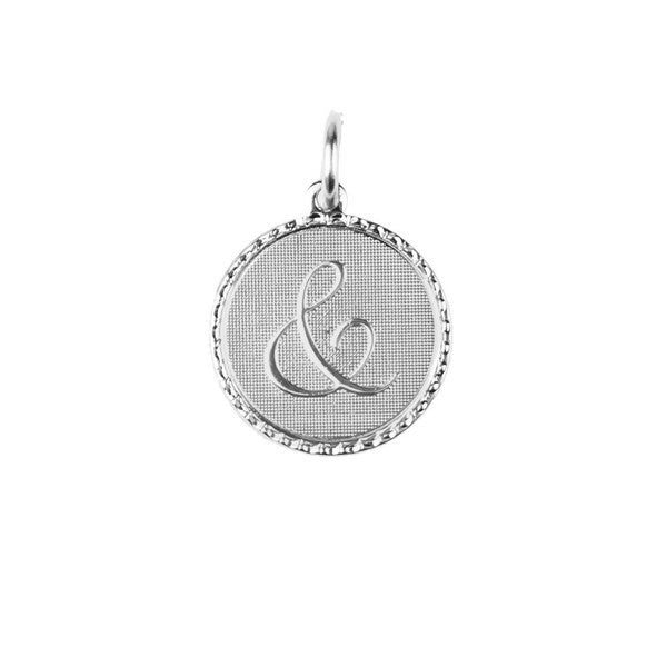 Moon and Lola - Dalton Ampersand Charm Small Silver
