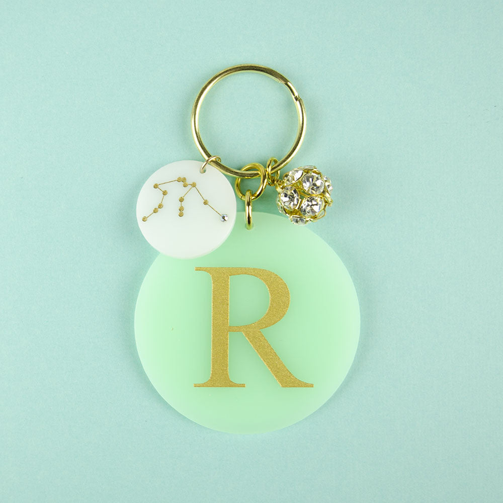 I found this at #moonandlola! - Acrylic Dalton Keychain with Charms