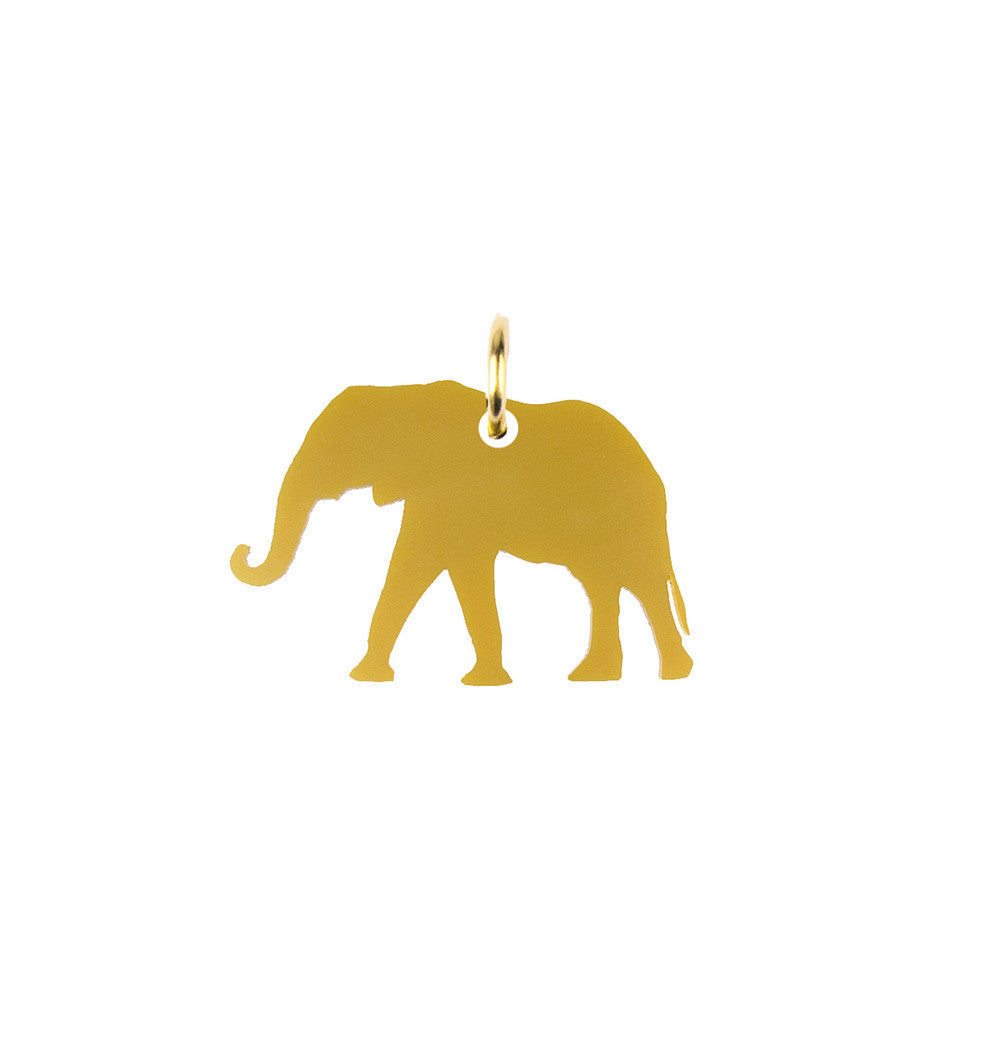 I found this at #moonandlola! - Elephant Cutout Charm