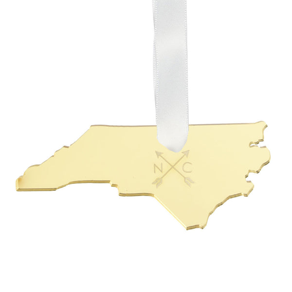 I found this at #moonandlola! - Engraved Arrow State Ornament