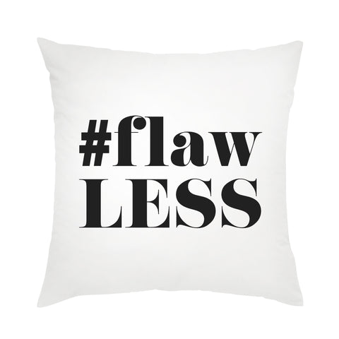 Moon and Lola - #Flawless Pillow ebony color