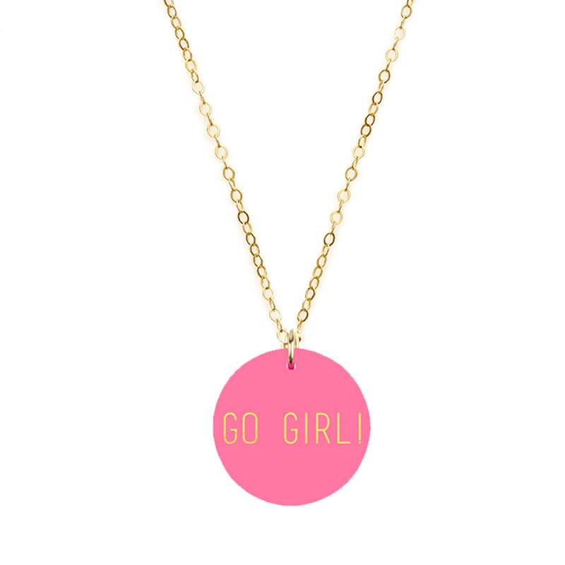 Moon and Lola - GO GIRL! Charm Necklace