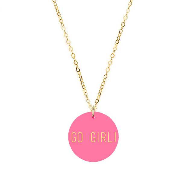 Moon and Lola Go Girl! Necklace