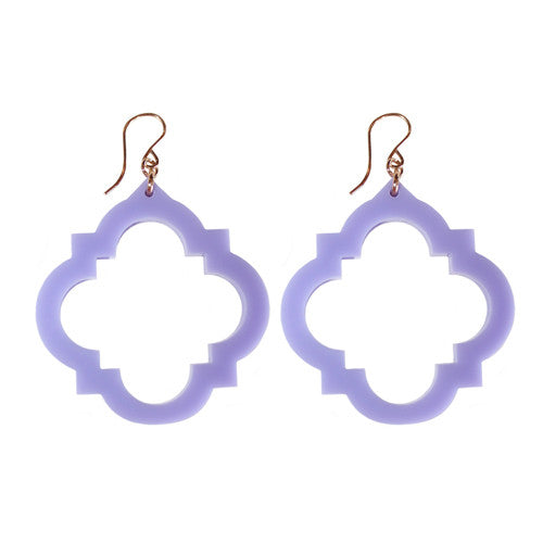 Moon and Lola - Granada Earrings Lavender