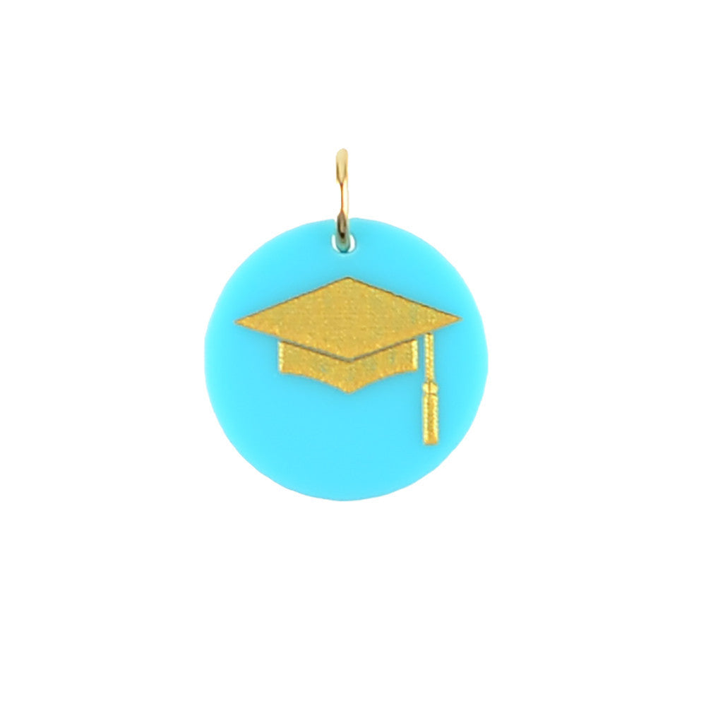 Moon and Lola - Graduation Cap Charm in Various Colors
