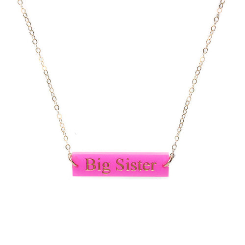 I found this at #moonandlola! - Greek Big Little Necklace