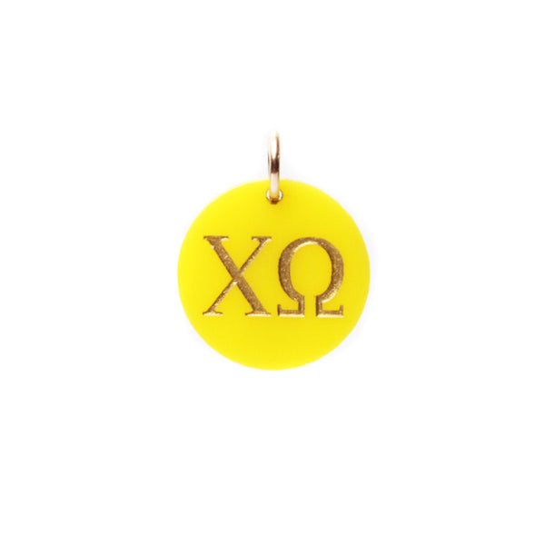 I found this at #moonandlola! - Greek Letter Charm