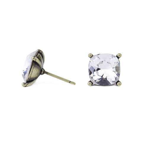 I found this at #moonandlola! - Hadley Swarovski Studs Side View