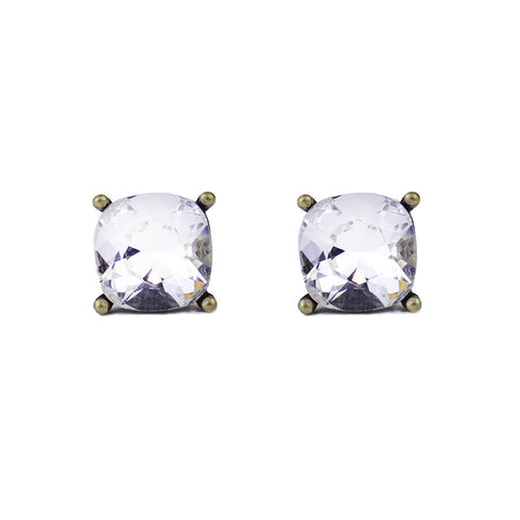 Windsor Studs Silver Shade