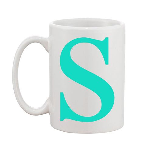 I found this at #moonandlola! - Single Letter Mug
