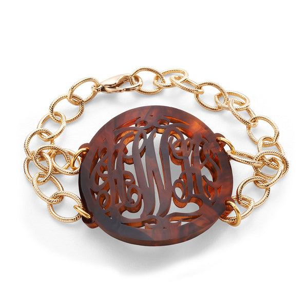 I found this at #moonandlola! - Acrylic Isobel Bracelet Tortoise