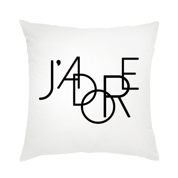 Moon and Lola - J'adore Pillow