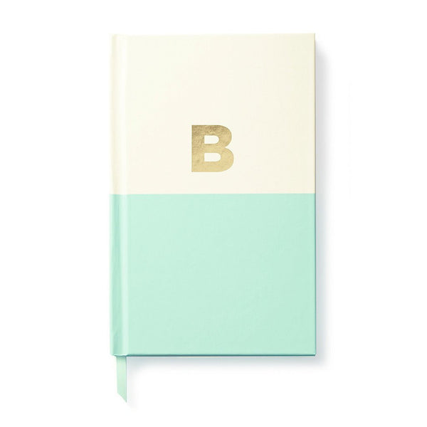 Moon and Lola - Kate Spade Dipped Initial Notebook B