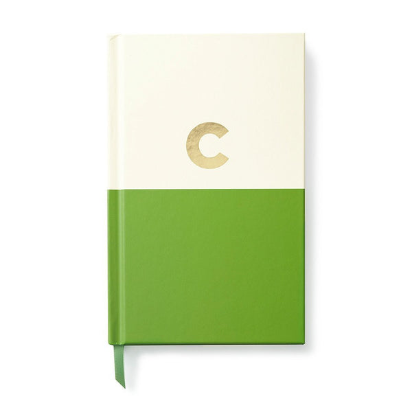Moon and Lola - Kate Spade Dipped Initial Notebook C