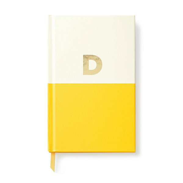Moon and Lola - Kate Spade Dipped Initial Notebook D
