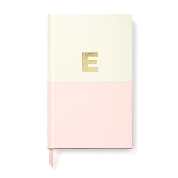 Moon and Lola - Kate Spade Dipped Initial Notebook E