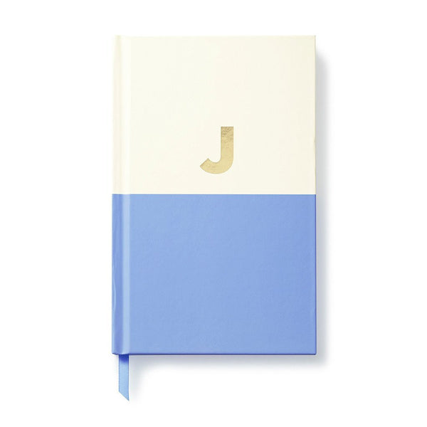 Moon and Lola - Kate Spade Dipped Initial Notebook J