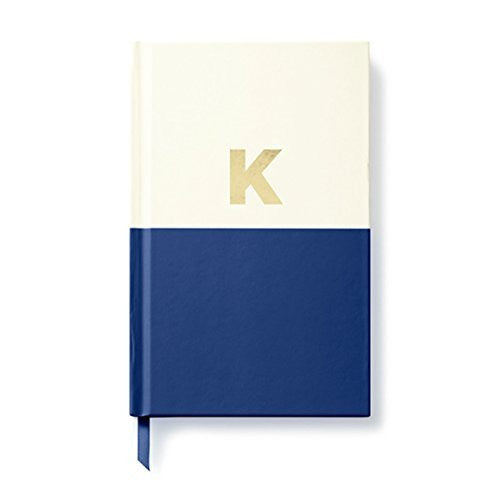 Moon and Lola - Kate Spade Dipped Initial Notebook K
