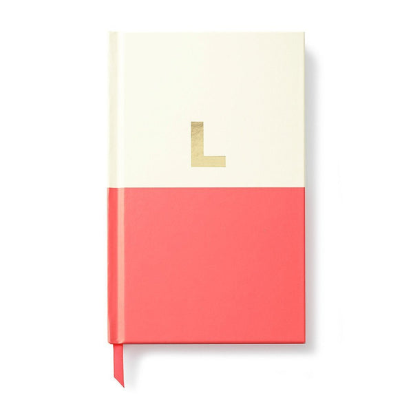 Moon and Lola - Kate Spade Dipped Initial Notebook L