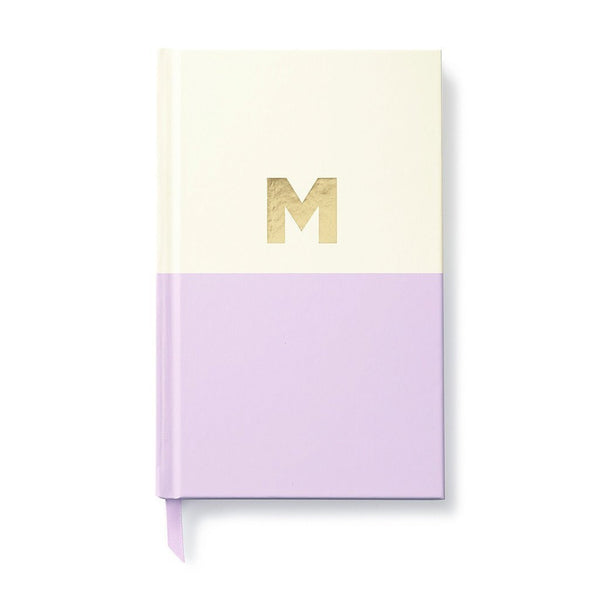 Moon and Lola - Kate Spade Dipped Initial Notebook M
