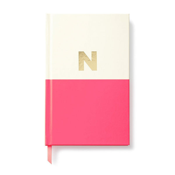 Moon and Lola - Kate Spade Dipped Initial Notebook N