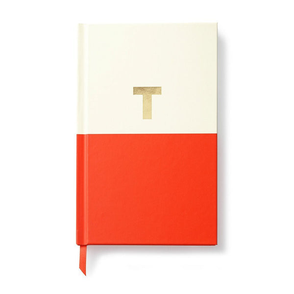 Moon and Lola - Kate Spade Dipped Initial Notebook T