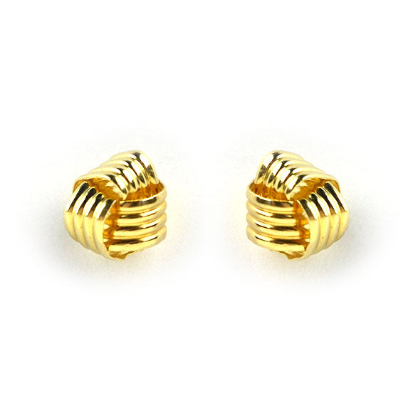 Moon and Lola - 14K Fina Knot Studs