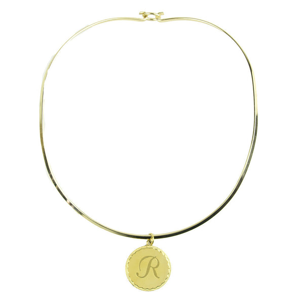 I found this at #moonandlola! - Kota Collar Round with Dalton Charm