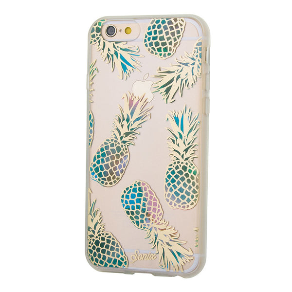 Moon and Lola - Sonix Liana Teal iPhone Case side view