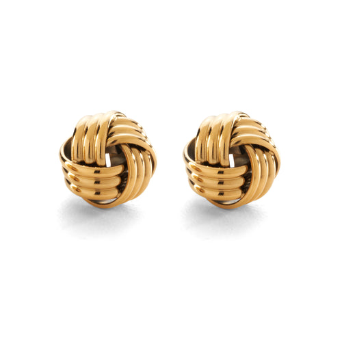 Moon and Lola - Lille Studs gold Celtic Love Knot