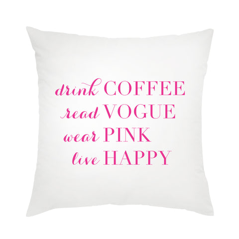 I found this at #moonandlola! - Live Happy Pillow