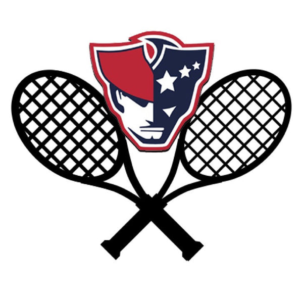 Moon and Lola - AFHS Tennis Logo