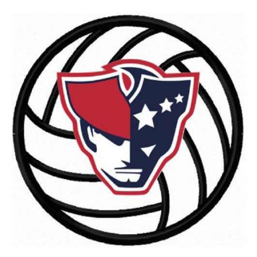 Moon and Lola - AFHS Volleyball Logo