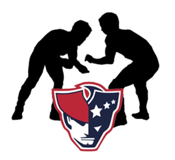 Moon and Lola - AFHS Wrestling Logo