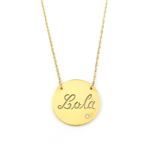 Moon and Lola - Sample Marbella Necklace