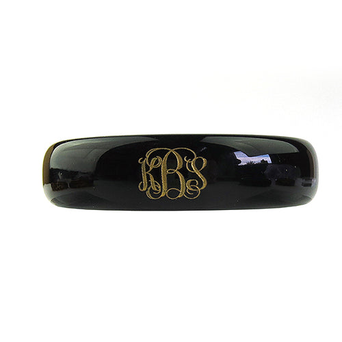 "Sample ""KBS"" Everly Monogram Bangle"